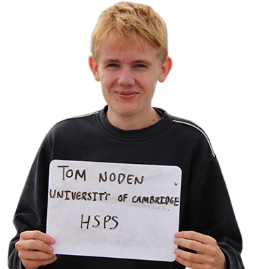 Tom, University of Cambridge