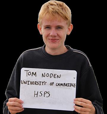 Tom, University of Cambridge